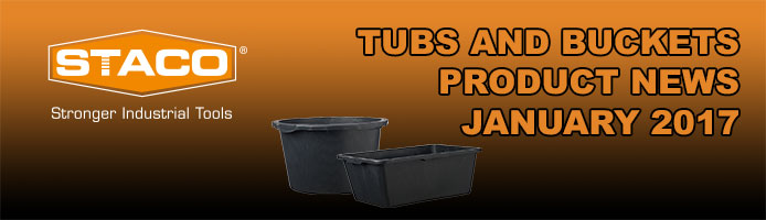 TUBS & BUCKETS – New products