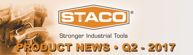 STACO Product News Q2 2017