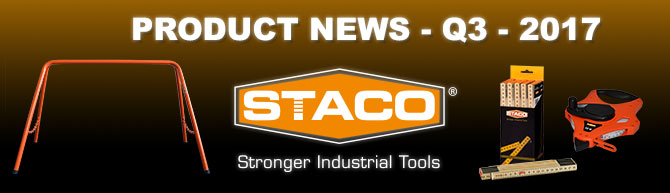 STACO Product News Q3 2017