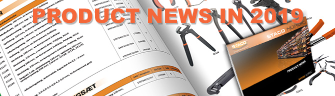 Product News in Catalogue 2019