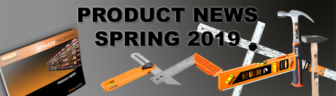 Product news and updates – Spring 2019